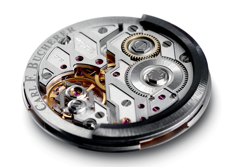 Carl F. Bucherer, le mouvement