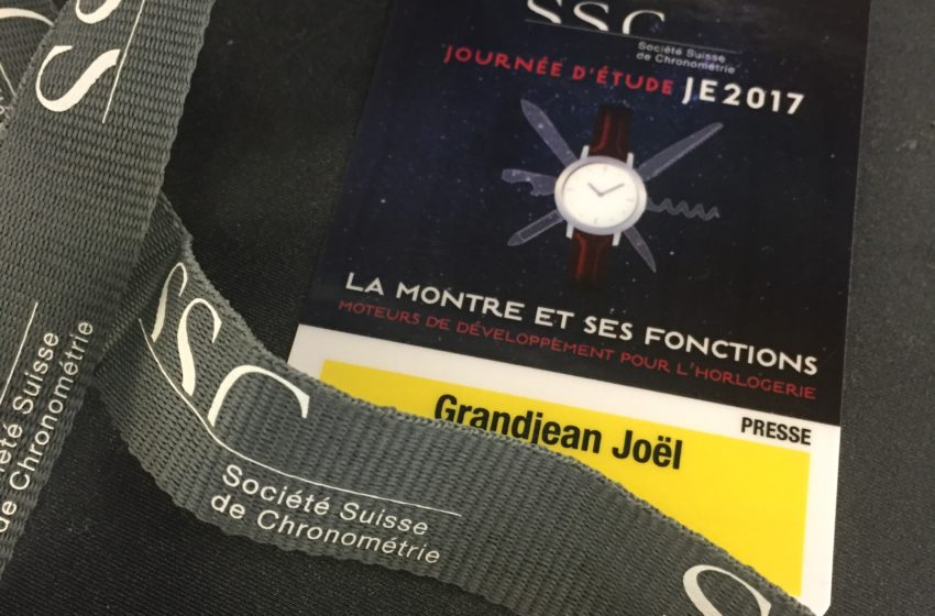 2012, Prix Gaïa au MIH et Journée de la SSC, collusion de dates…
