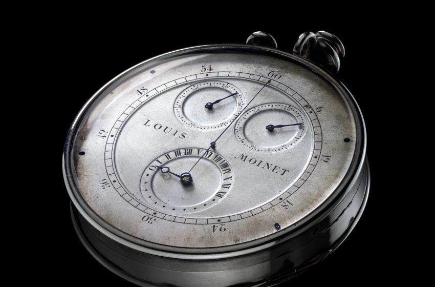 Stupéfiant: c'est Louis Moinet qui a inventé le chronographe!