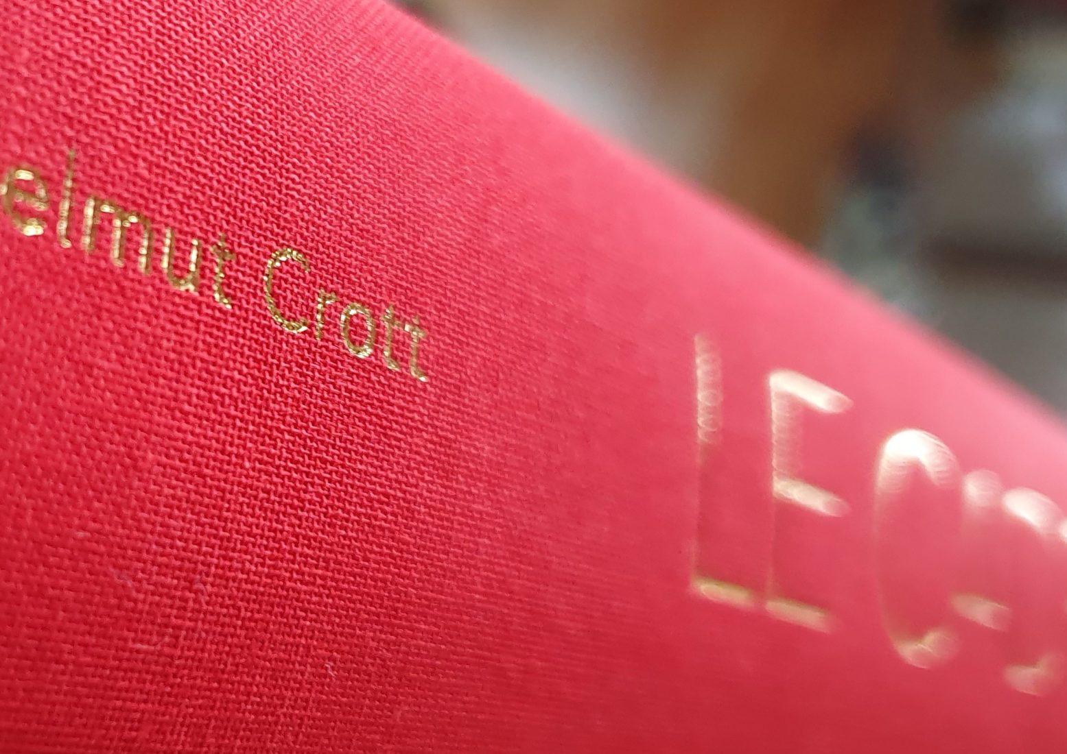 Livre Le Cadran Dr. Helmut Crott - Rédaction Joël A. Grandjean