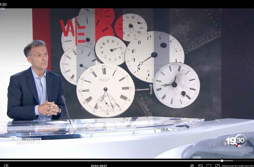 En 1907, JSH, Journal Suisse de l'Horlogerie parlait déjà de l'heure d'été et d'hiver