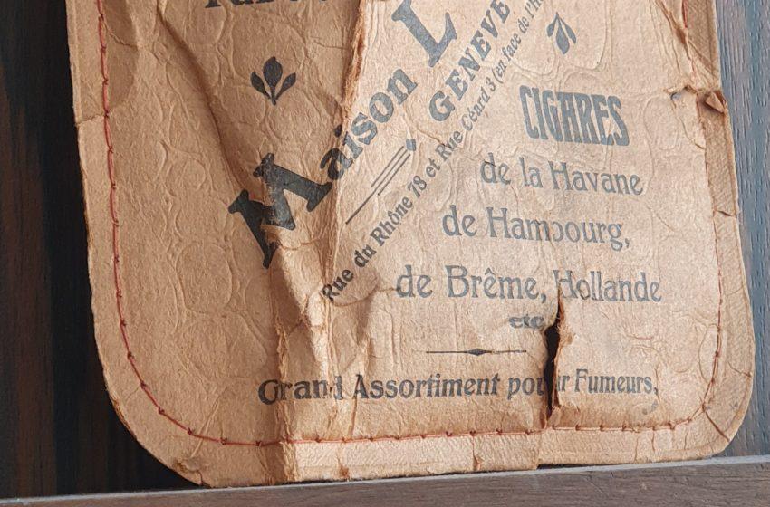 Décor d'atelier d'horloger che Cédric Johner à Carouge (Genève)