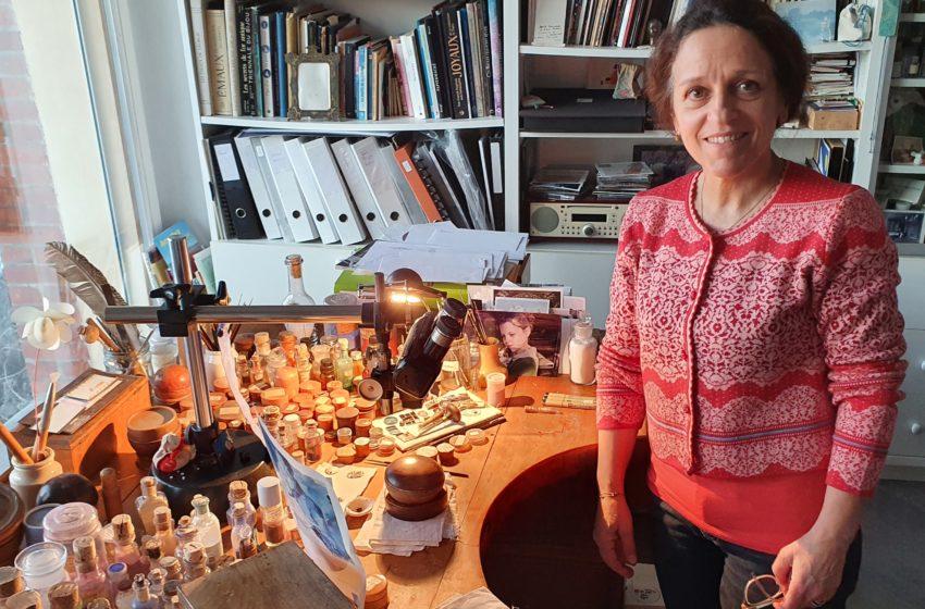 Anita Porchet, émailleuse légendaire