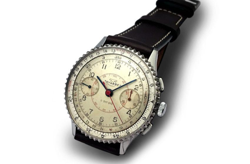 Tavannes Watch est le père biologique du Chronomat