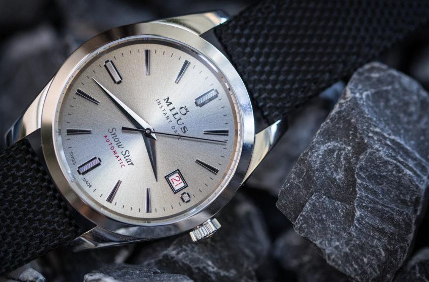 Snow Star 2019 en deux versions: La centenaire Milus rend hommage à une montre de légende