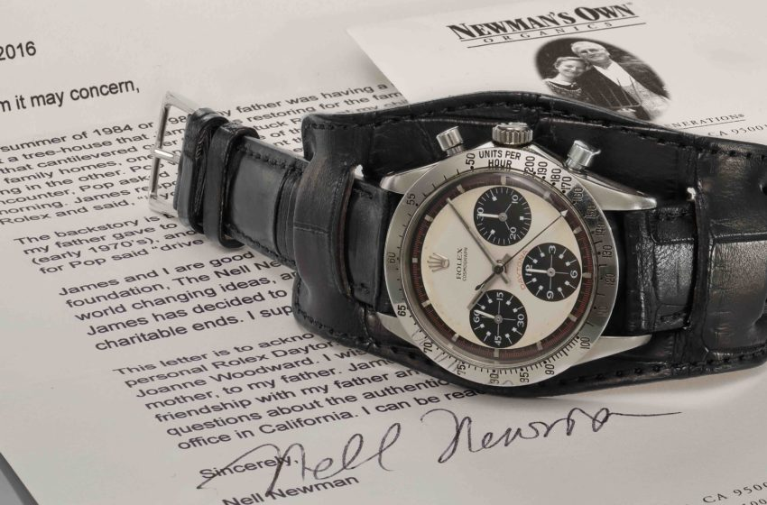 Almost 20 million Swiss francs for a steel Rolex: more than just an investment!