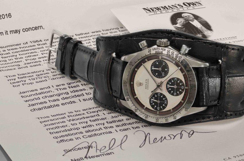 Presque 20 millions pour une Rolex en acier: au-delà du placement!