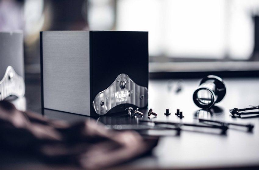 Le remontoir SwissKubik: simple, beau et si silencieux, un concentré de Suissitude